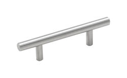 Amerock Bar Cabinet Pull 3 in. Sterling Nickel 5 pk