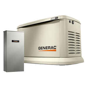 Generac  Guardian  19000 watts White  Generator