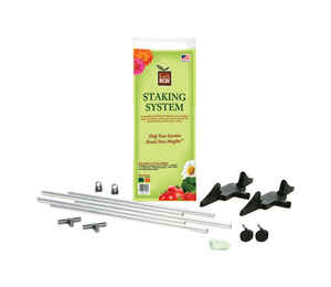 EarthBox  60 in. H x 22 in. W Green  Plastic  Plant Staking System