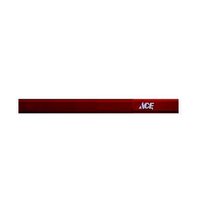 Ace 7 in. L x 0.5 in. W Carpenter Pencil Red Wood 1 pc.