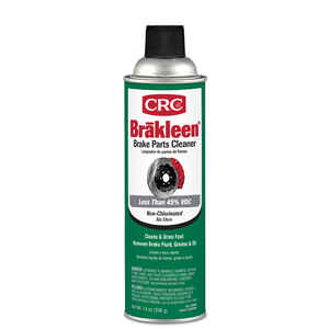 CRC  Brake Parts Cleaner  14 oz.