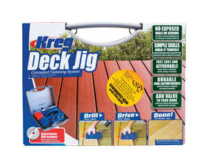 Kreg  Nylon  Deck Jig  3/4 in. to 1-1/8 in. Assorted  1 pc.