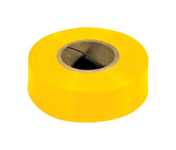 Irwin  Strait-Line  300 ft. L x 1-3/16 in. W PVC  Flagging Tape
