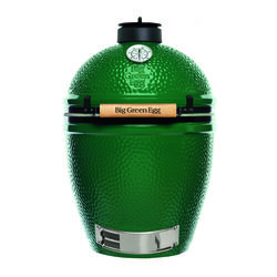 Big Green Egg  18.25 in. Large  Charcoal  Kamado Grill  Green