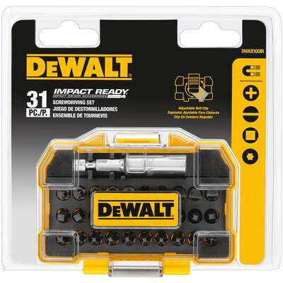 DeWalt Impact Ready Screwdriver Bit 31 pc.