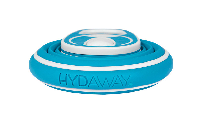 Hydaway  Bluebird  Silicone  Water Bottle  Collapsible  21 oz. BPA Free