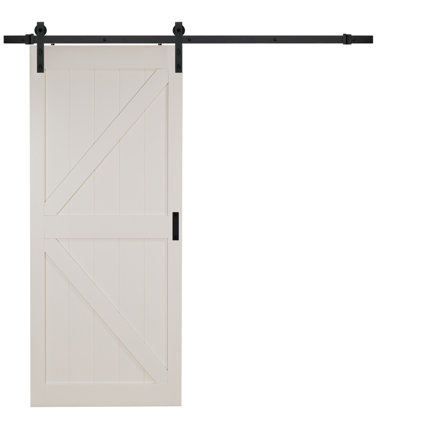 Renin  36 in. W x 84 in. H K-Design Barn Door