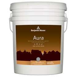Benjamin Moore  Aura  Low Luster  Tintable Base  Base 1  Acrylic  Paint  Outdoor  5 gal.