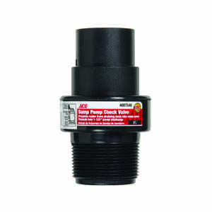 Ace  ABS Plastic  Swing  Sump Pump Check Valve