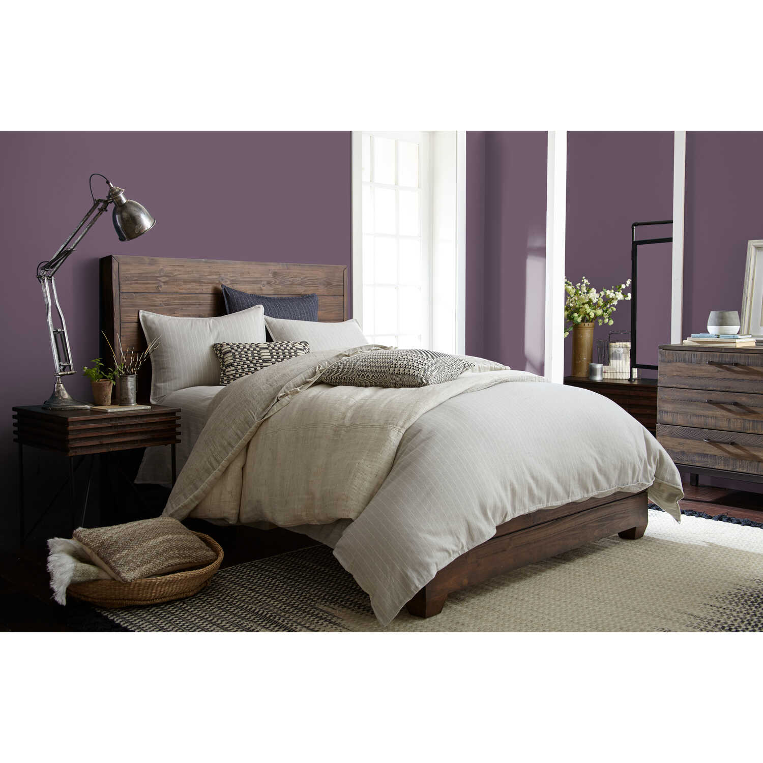 Magnolia Home  by Joanna Gaines  Eggshell  Webster Avenue  Deep Base  Acrylic  Paint  Indoor  1 gal.
