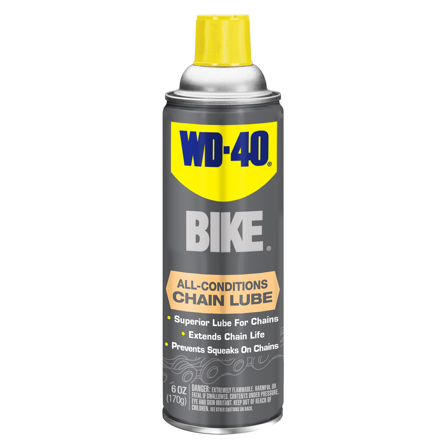 WD-40  Bike  Chain and Wire Pulling  Chain Lube  6 oz.