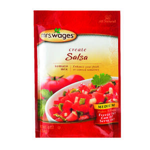 Mrs. Wages  Salsa Mix  4  1 pk