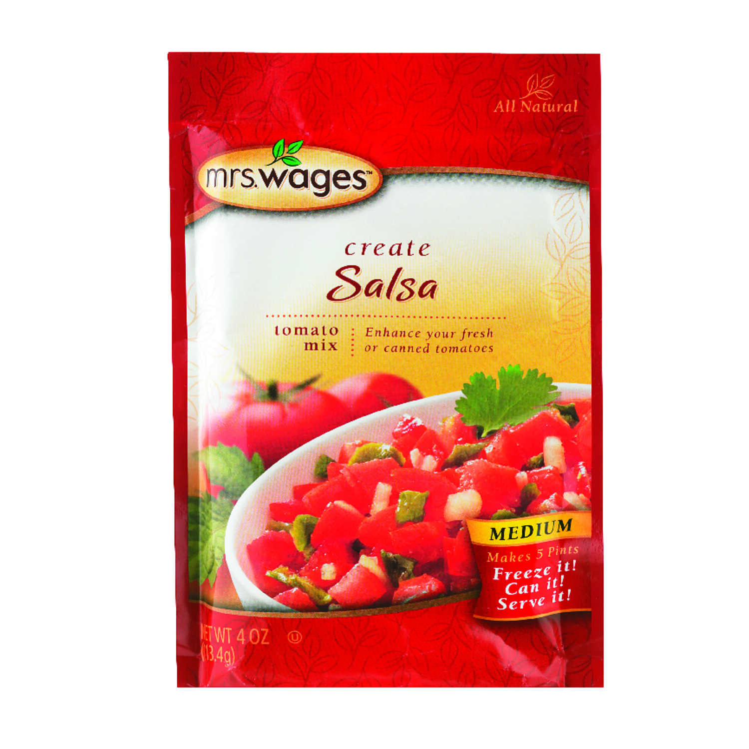 Mrs. Wages  Salsa Mix  4 oz. 1 pk