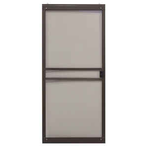Precision  Branson Series  80-3/4 in. H x 36 in. W Branson  Bronze  Steel  Adjustable Sliding Screen