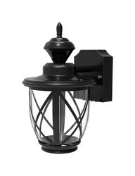 Heath Zenith  Dusk to Dawn  Hardwired  LED  Black  Security Wall Light