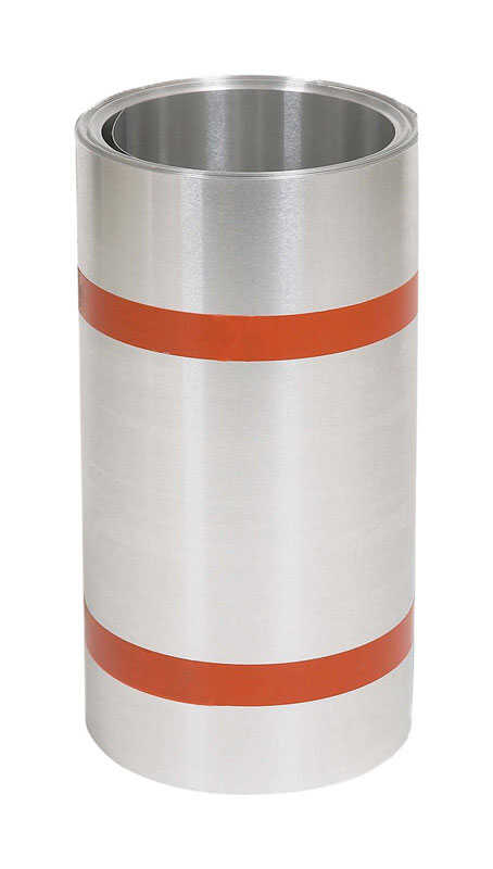 Amerimax  14 in. H x 4 in. W x 50 ft. L Aluminum  Roll  Flashing  Silver