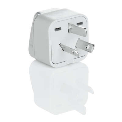 Travel Smart Type I For Worldwide Grounded Adapter Plug