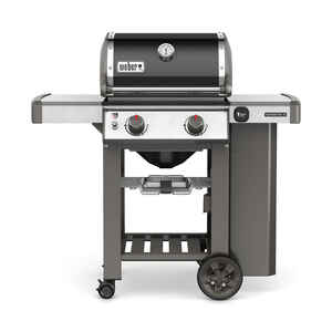 Weber  Genesis II E-210  Natural Gas  Freestanding  Grill  Black  2 burners