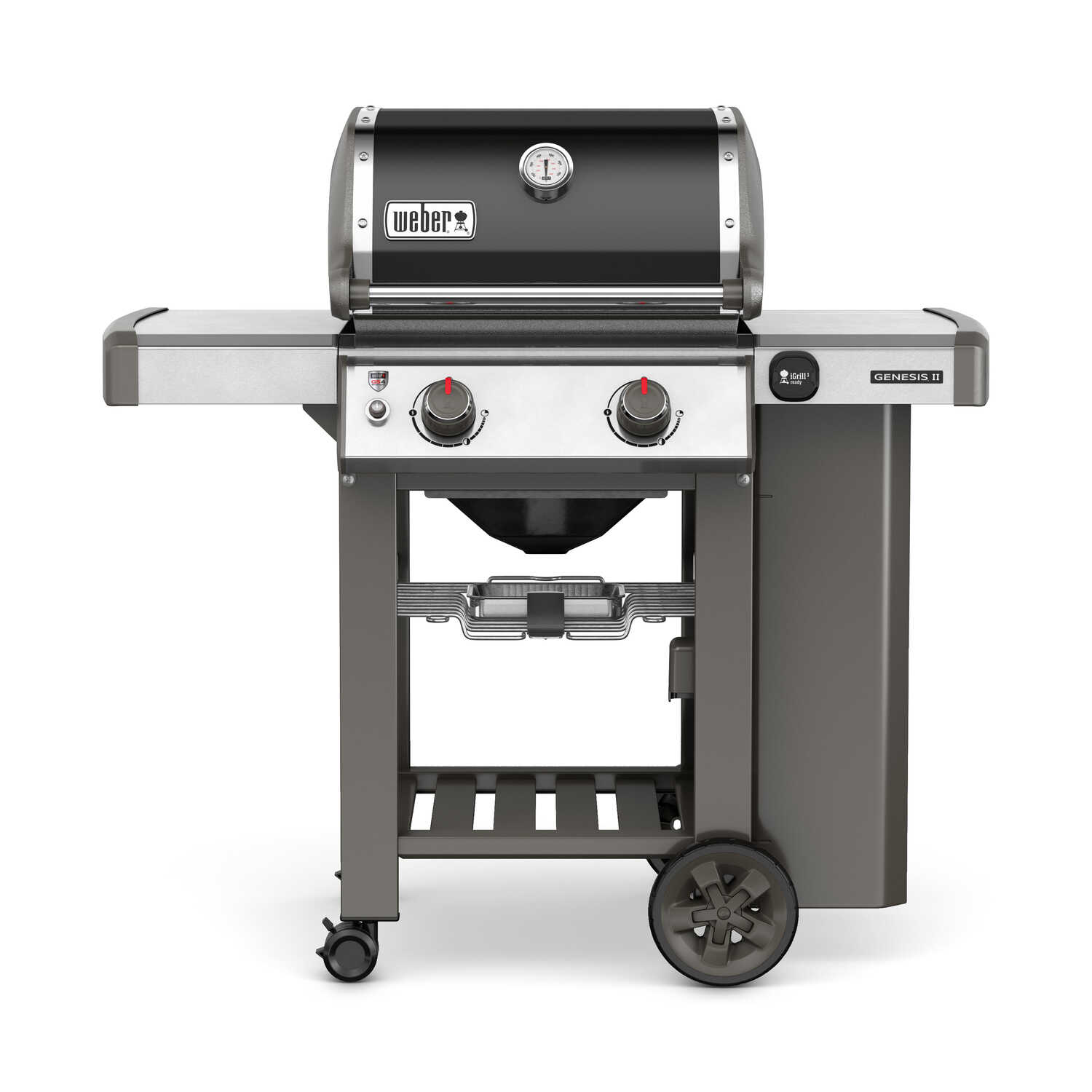 Weber  Genesis II E-210  2 burners Natural Gas  Grill  Black  26000 BTU
