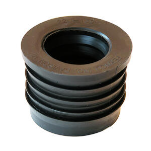 Fernco  Schedule 40  2 in. Compression   x 1-1/2 in. Dia. Hub  PVC  Donut Fittings