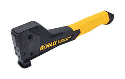 DeWalt  3/8 in. Hammer Tacker  Yellow