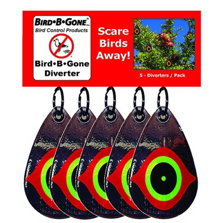 Bird-B-Gone Scared-Eye Diverters For Assorted Species 5 pk