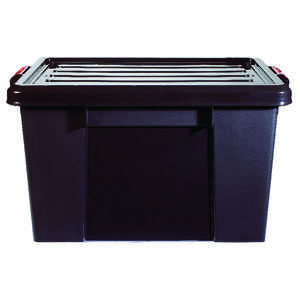 Iris  25.5 in. H x 26.8 in. W x 18 in. D Stackable Storage Tote