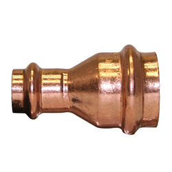 Mueller Streamline 3/4 in. CTS x 1/2 in. Dia. CTS/Press Copper Coupling