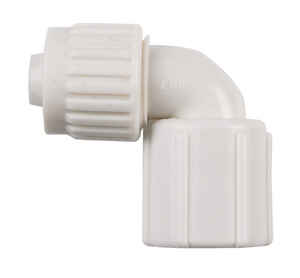 Flair-It  1/2 in. PEX   x 1/2 in. Dia. FPT  PVC  Swing Elbow