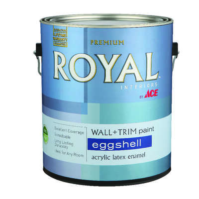 Ace Royal Eggshell Midtone Hi-Hide Base Interior Latex Wall+Trim Paint Interior 1 gal.