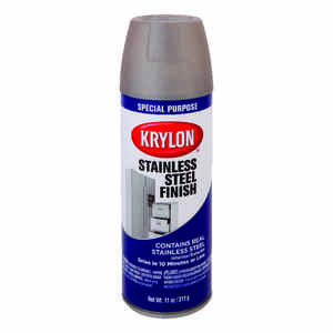 Krylon  Special Purpose  Spray Paint  Stainless Steel  11 oz.