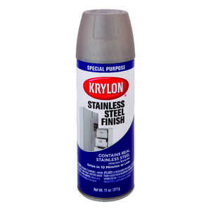 Krylon  Special Purpose  Stainless Steel  Spray Paint  11 oz.
