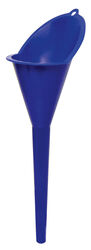 FloTool  Blue  10-3/4 in. H Plastic  5-1/2 oz. Funnel