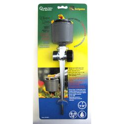 Whisper Quiet Plastic Non-tipping Base Rotating Sprinkler 5024 sq. ft.