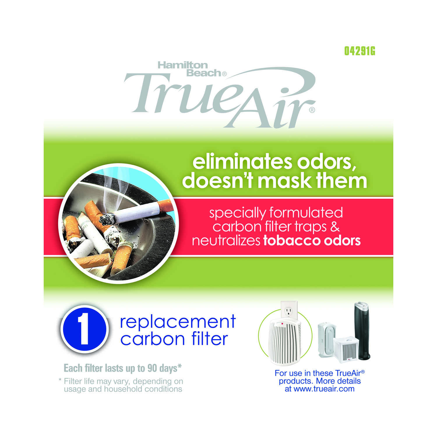 True Air  5.71  H x 5.51  W Rectangular  HEPA Air Purifier Filter