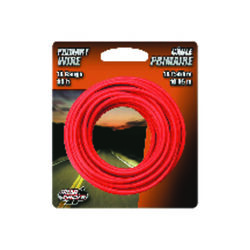 Coleman Cable 33 ft. 18 Ga. Primary Wire Red