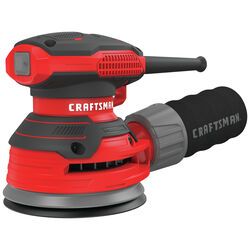 Craftsman  120 volt 3 amps Corded  5 in. Random Orbit Sander