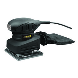 Steel Grip  1.5 amps 120 volt Corded  1/4 Sheet  Sander  Bare Tool  13000 opm