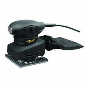 Steel Grip  1.5 amps 120 volt Corded  1/4 Sheet  Sander  4-1/2 in. L x 4 in. W 13000 opm