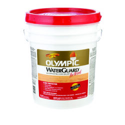 Olympic WaterGuard Low Luster Clear Oil-Based Waterproofer Wood Protector 5 gal.