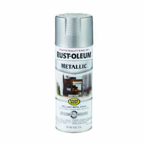 Rust-Oleum  Stops Rust  Silver  Spray Paint  11 oz.