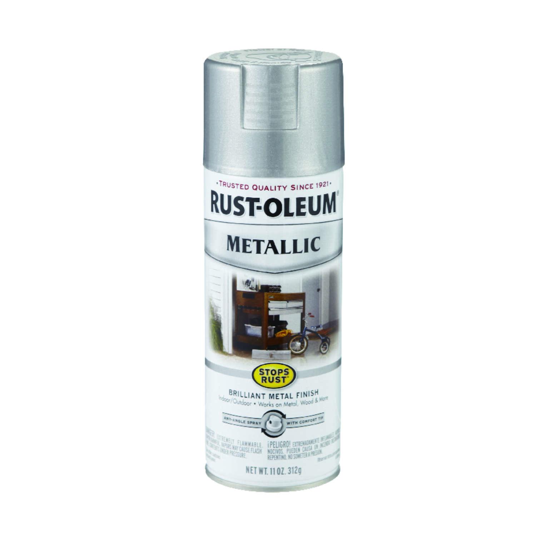 Silver Metallic Spray Paint 11 Oz