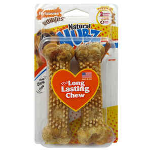 Nylabone  Nubz  Chicken  Chews  For Dog 2 pk