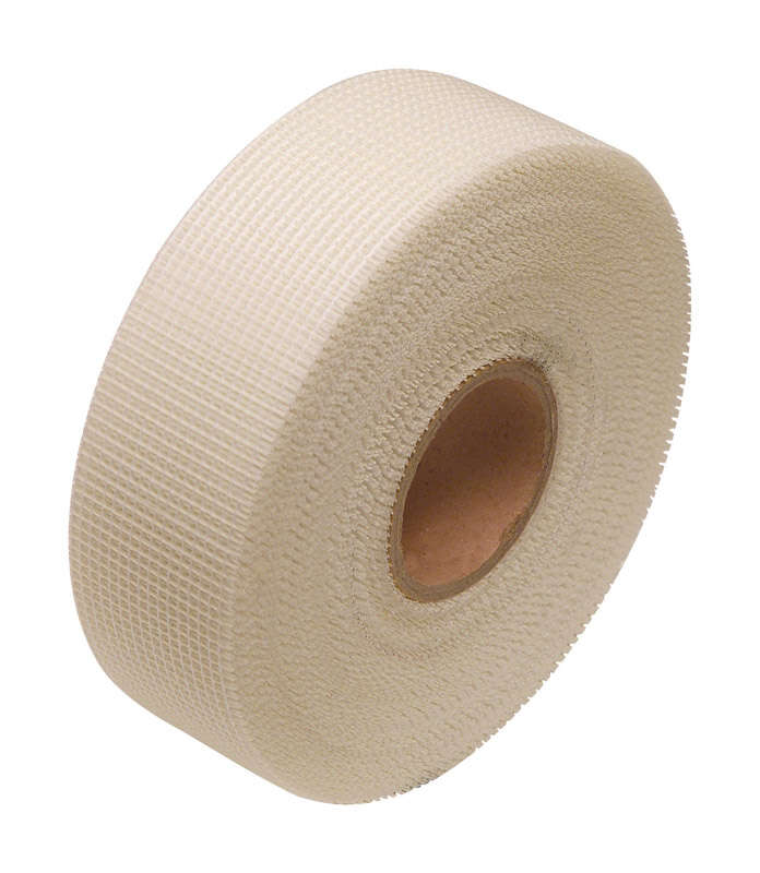 Hyde  300 ft. L x 1-7/8 in. W Fiberglass  White  Self Adhesive Joint Tape