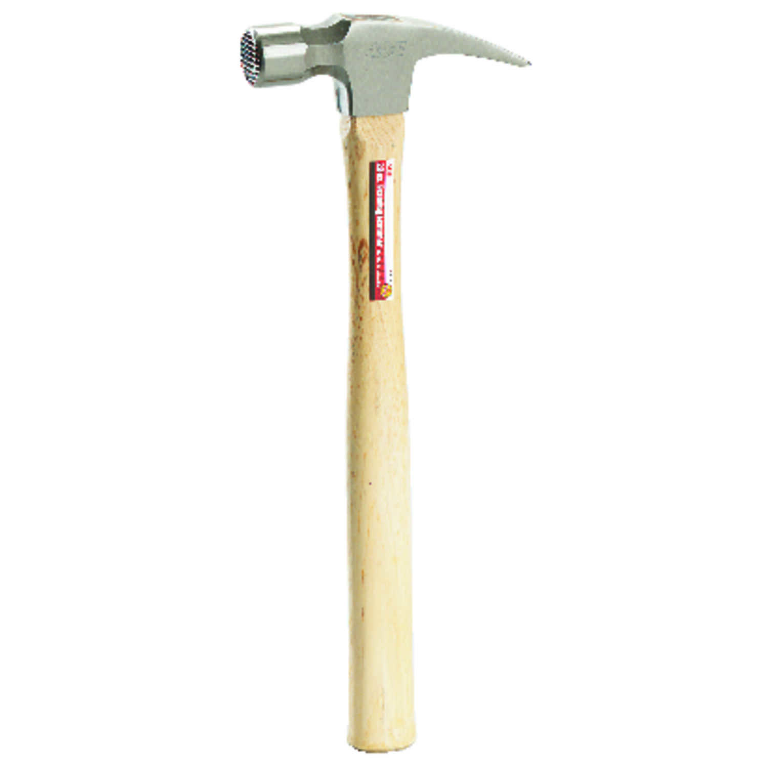 Ace  22 oz. Framing Hammer  Carbon Steel Head Hickory Handle  15.81 in. L