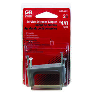 Gardner Bender  1-1/2 in. W Plastic  Service Entrance Cable Strap  2 pk Insulated