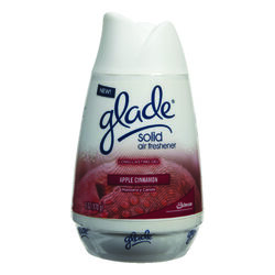 Glade  Apple Cinnamon Scent Air Freshener  6 oz. Solid