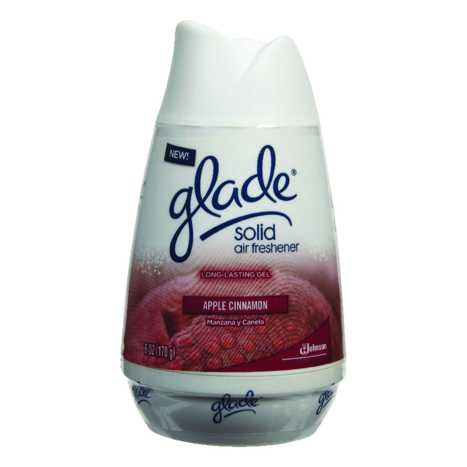 Glade  Apple Cinnamon Scent 6 oz. Solid  Air Freshener
