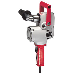 Milwaukee  HOLE-HAWG  1/2 in. Keyed  Corded Angle Drill  Kit  7.5 amps 1200 rpm