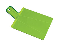 Joseph Joseph 8-3/4 in. W x 15 in. L Green Polypropylene Cutting Board